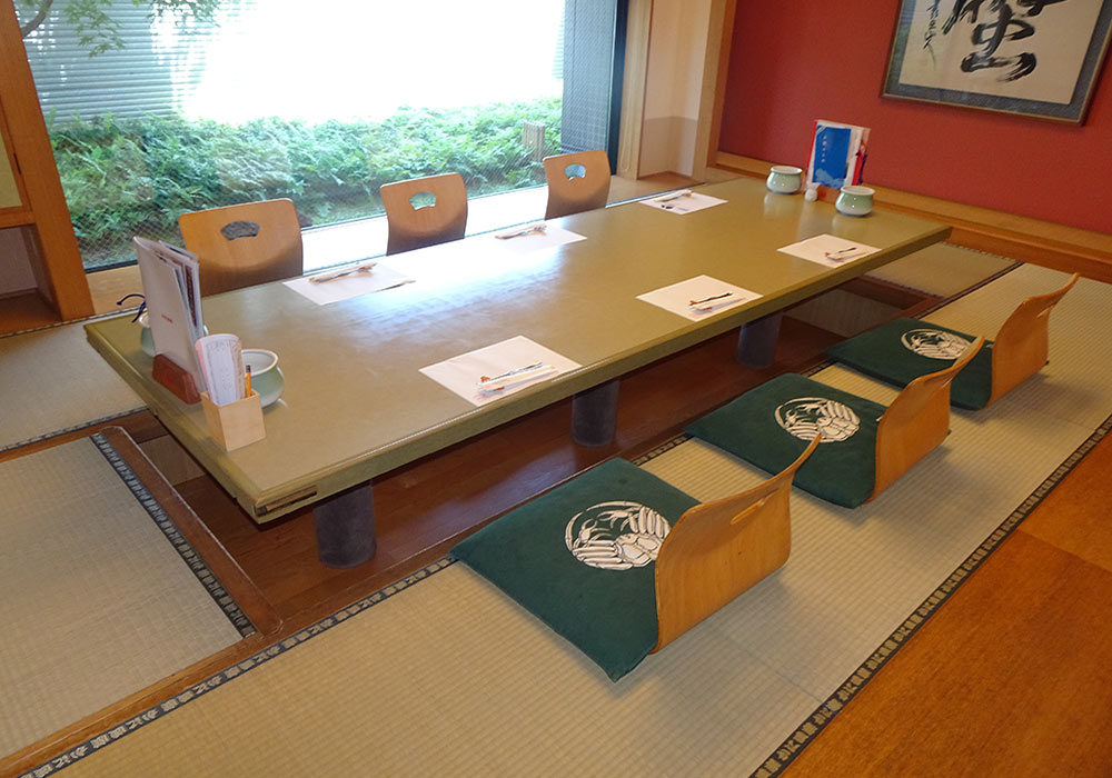 Room (6-10 people) out of Kurashiki branch introspectiveness -
