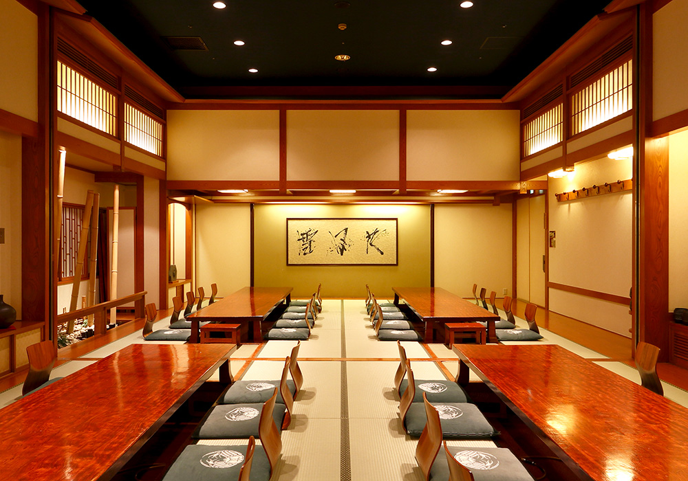 Large hall (dig seat) which is storable to Shinjuku Ekimae branch introspectiveness -72 people