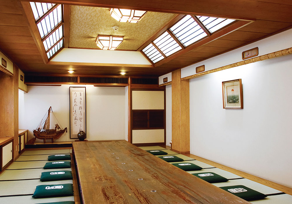 Room (dig seat) out of back room Amimoto Bekkan (Annex) introspectiveness - of Kani Doraku