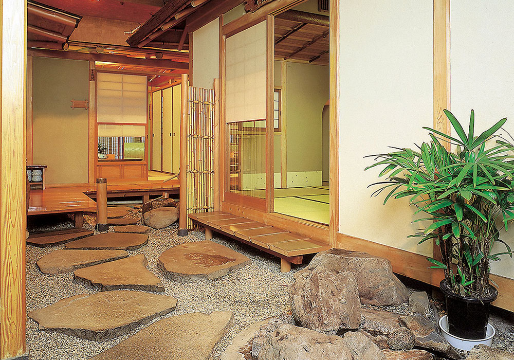 Back room Amimoto Honkan (Main) introspectiveness - passage of Kani Doraku