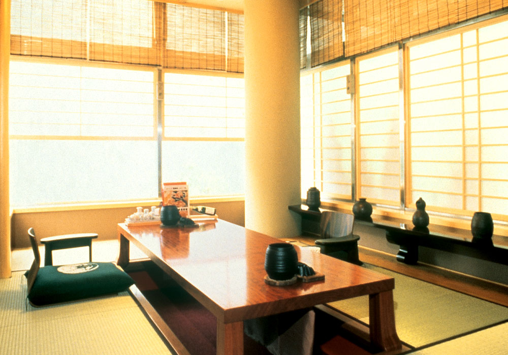 Calmed down Azumabashi branch introspectiveness -; dig; private room of seat