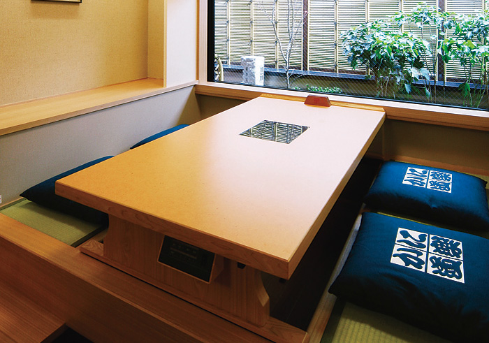 Room (dig seat) of Higashi Osaka branch introspectiveness - big things and small things