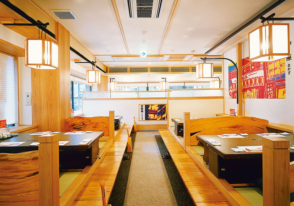Dotombori Honten (The Original/Main restaurant) introspectiveness -2 upper floor room (dig seat)