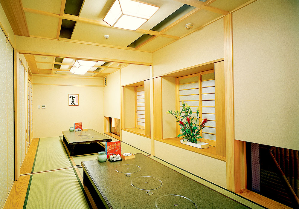 Dotombori Honten (The Original/Main restaurant) introspectiveness -6 floor small room (dig seat)