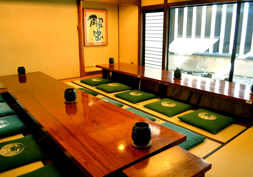 Private room (dig seat) to Kawasaki branch introspectiveness -20 people
