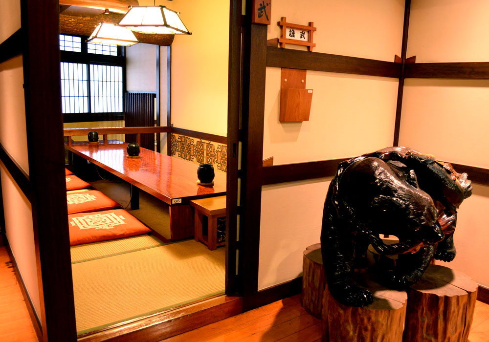 Private room of Kawasaki branch introspectiveness - calm atmosphere