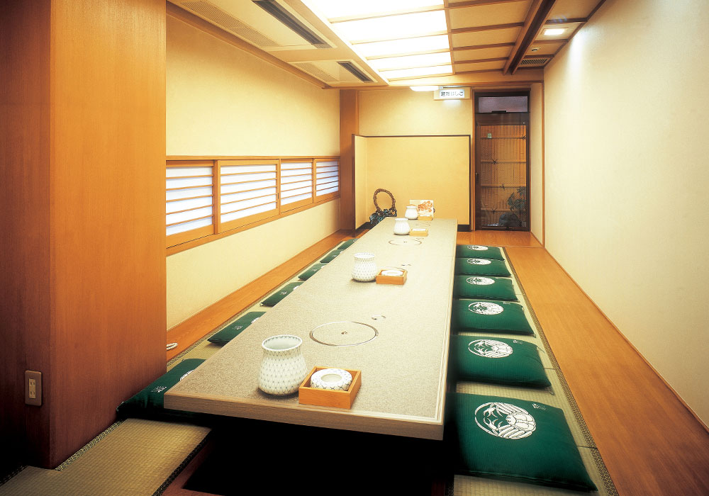To Kitashinchi branch introspectiveness -20 people large hall (dig seat) of the accommodation