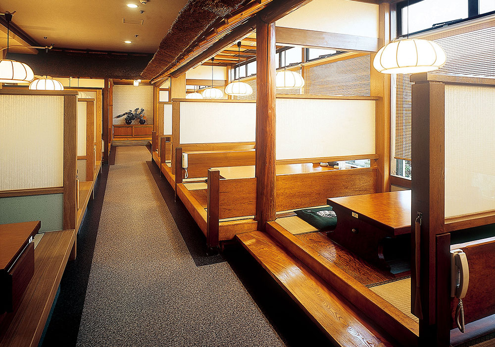 In Kita shirakawa branch introspectiveness - room (dig seat)