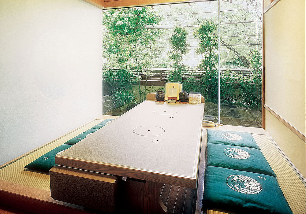 Room (dig seat) of Kyoto Kita shirakawa branch introspectiveness - big things and small things