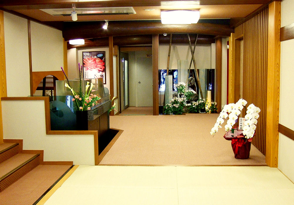 Kyoto Honten (Main in Kyoto) introspectiveness - entrance