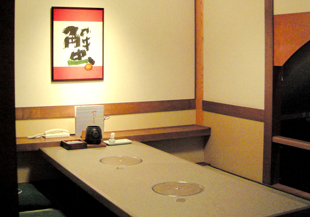 Room (dig seat) of Kyoto Honten (Main in Kyoto) introspectiveness - big things and small things