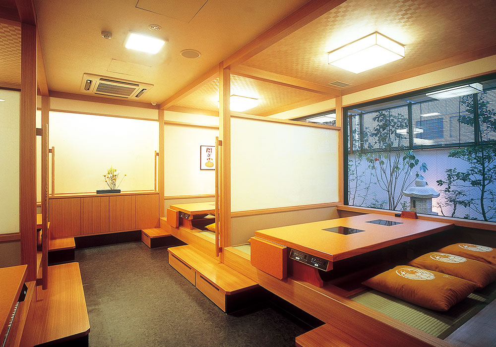In Matsubara branch introspectiveness - room (dig seat)