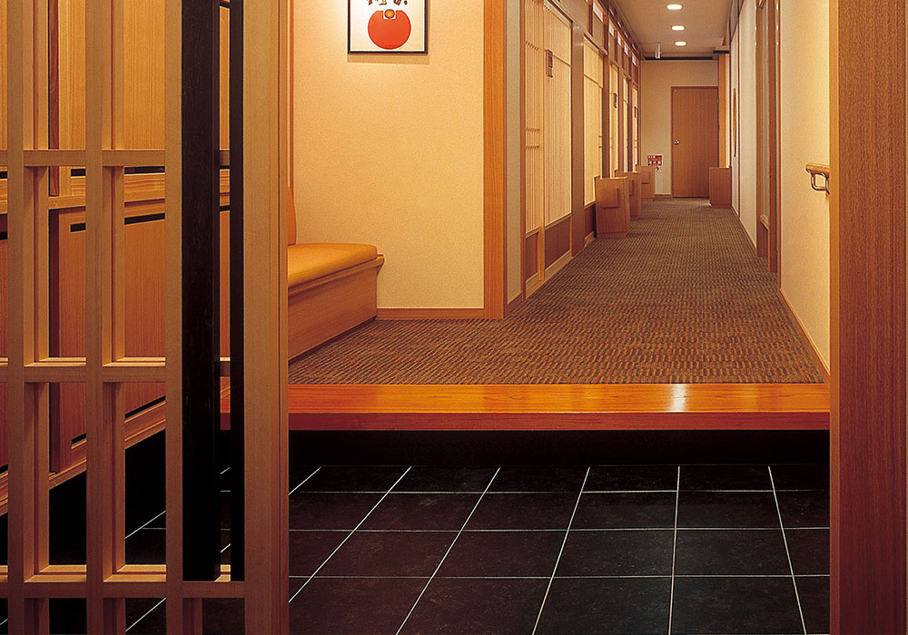 Matsubara branch introspectiveness - room entrance