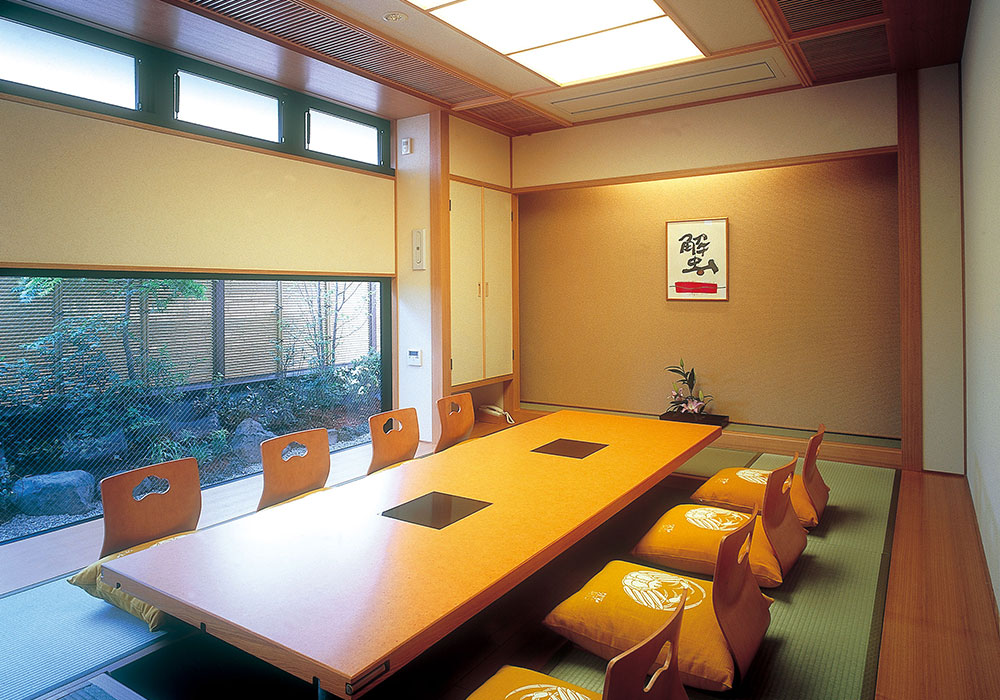 Room (dig seat) of Matsubara branch introspectiveness - big things and small things