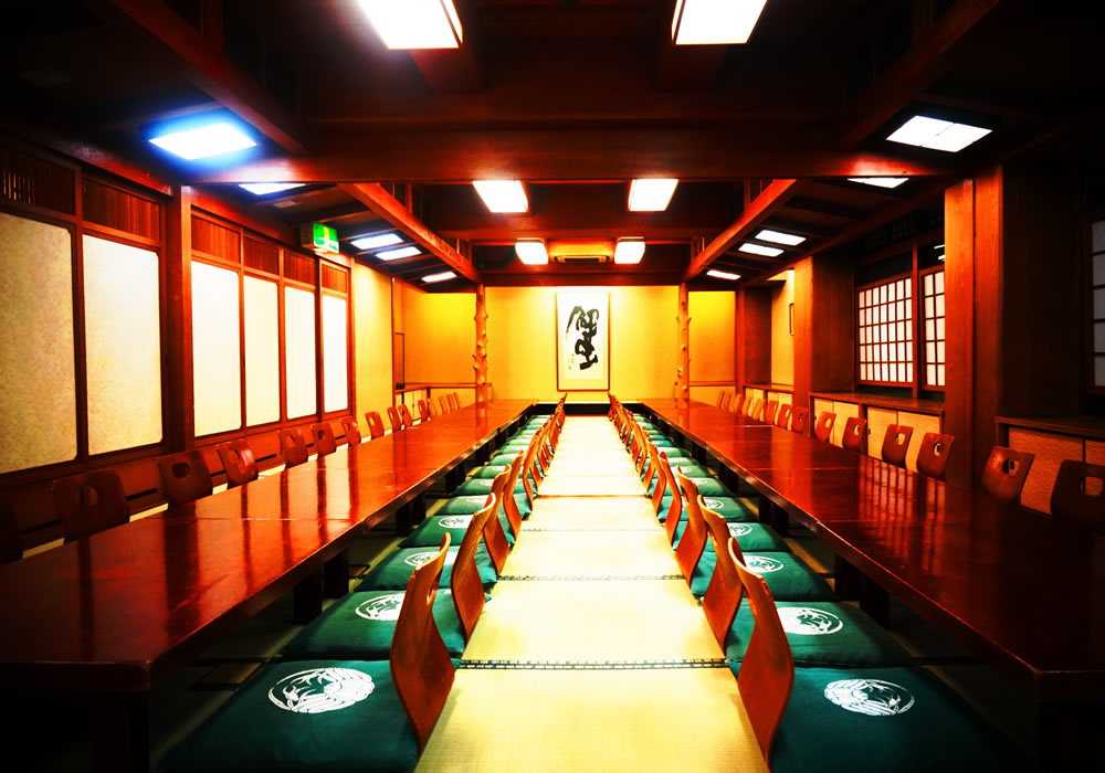 Large hall of Matsuyama branch introspectiveness - 3F 80 people accommodation