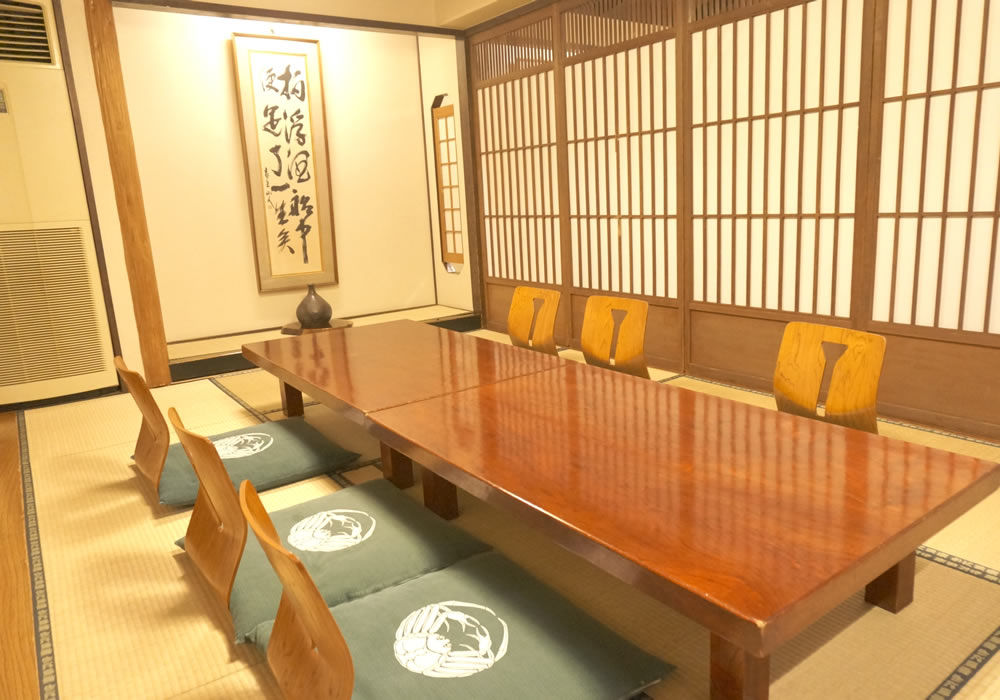 Private room of room where it is relaxing with Matsuyama branch introspectiveness - 4F child