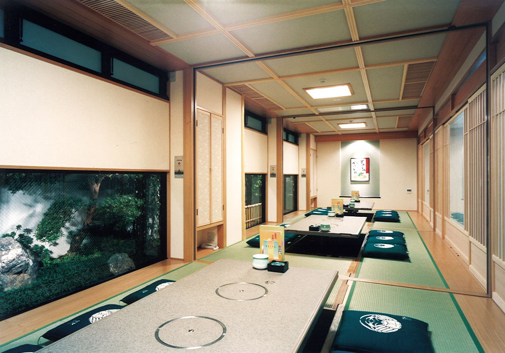 Nara Honten (Main in Nara) introspectiveness - large room (dig seat)