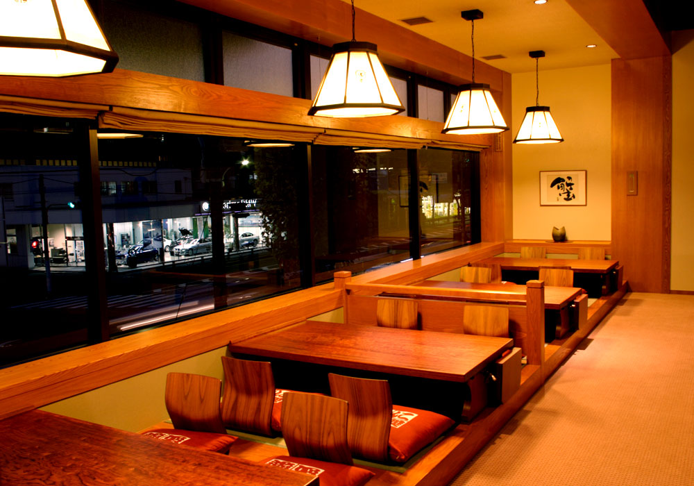 On the Nerima Yahara branch introspectiveness - window side seat (dig seat)