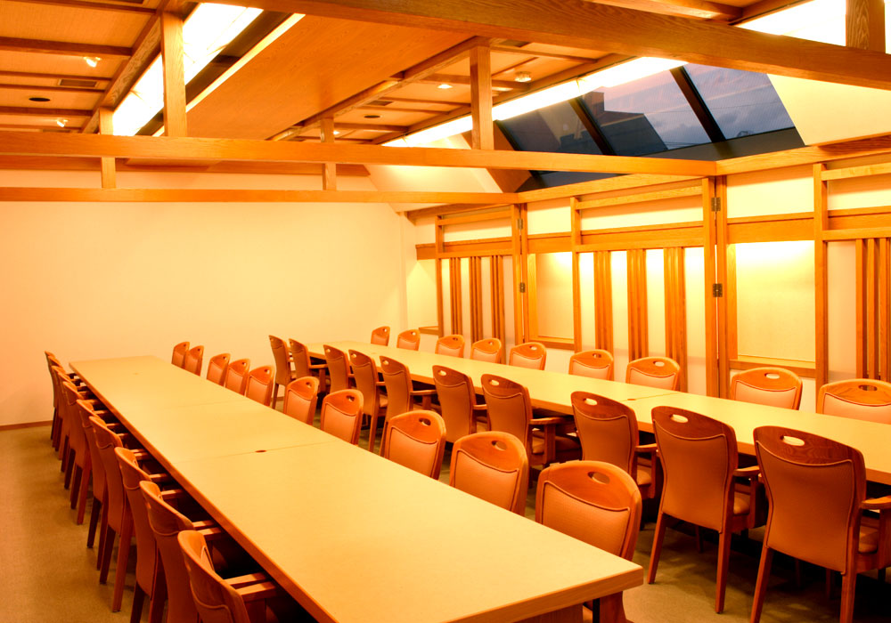 Private room (chair seat) where Nerima Yahara branch introspectiveness - up to 38 people are packable in