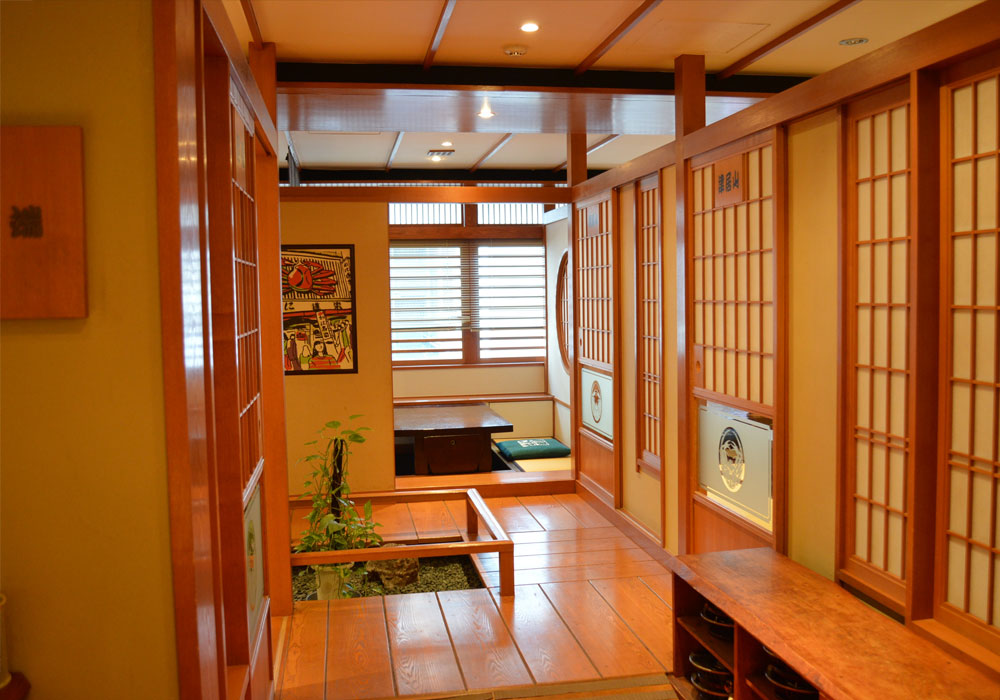 Private room where with Nishi shinjuku 5 chome branch introspectiveness - child can feel relieved