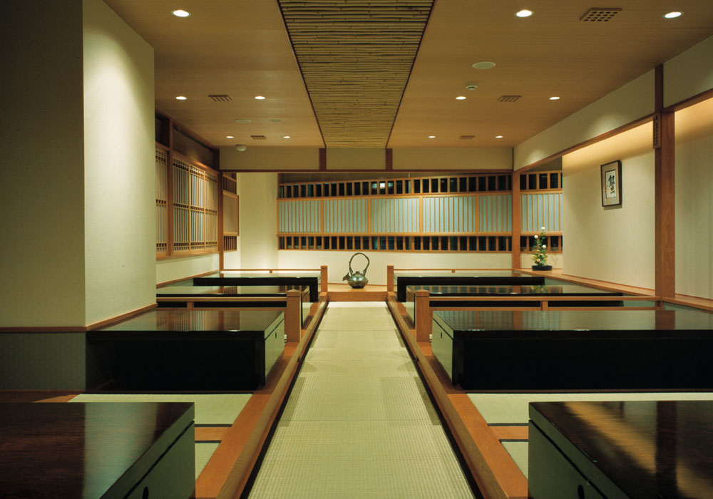Possible Masu seat (dig seat) reserved to Nishi shinjuku 5 chome branch introspectiveness -42 people