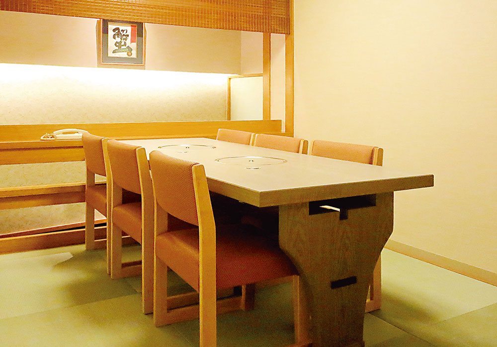 Kobe San no miya branch introspectiveness - private room (chair seat)