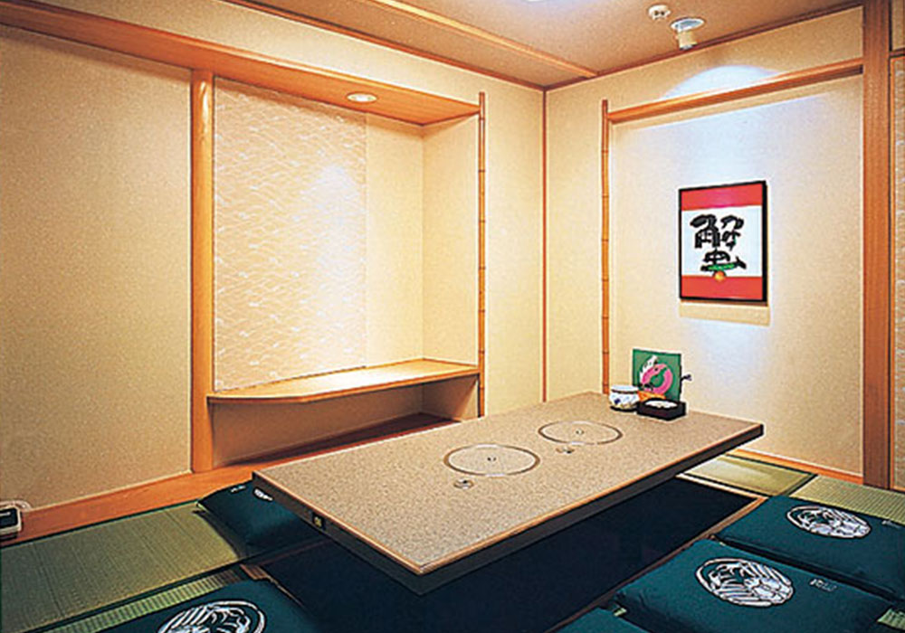 Room (dig seat) of Kobe San no miya branch introspectiveness - big things and small things