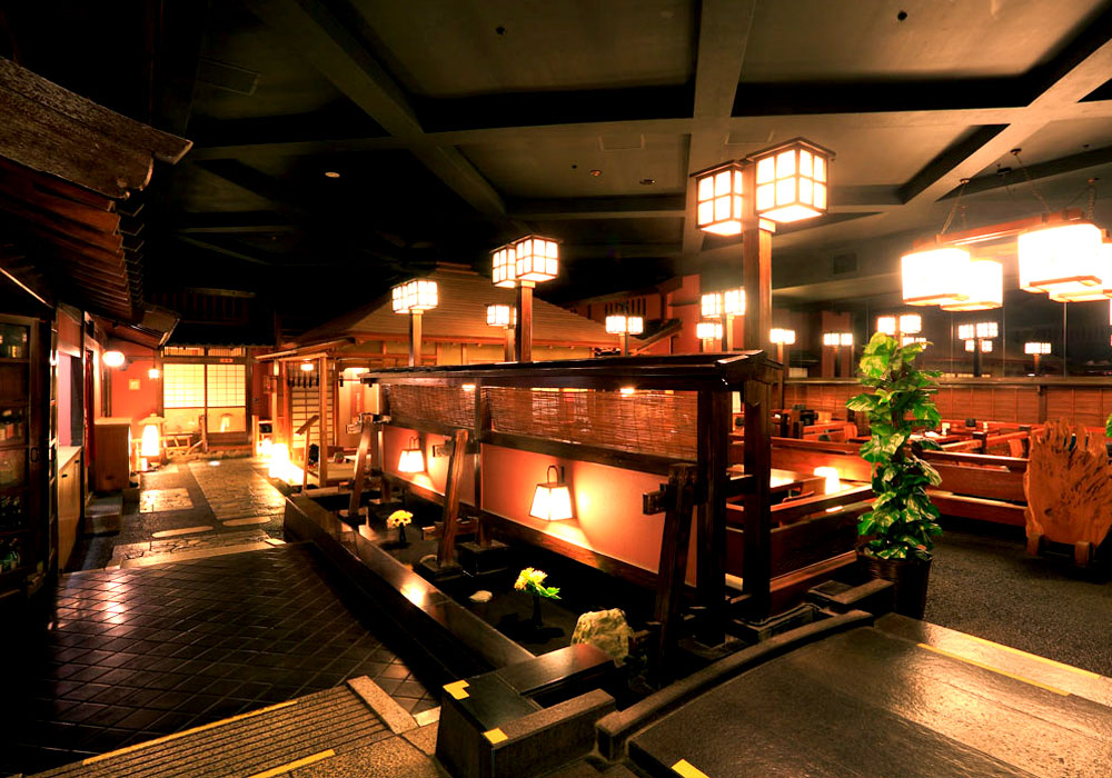 Atmosphere of 和 with Shinjuku Honten (Main restaurant in Kanto area) introspectiveness - presence of mind