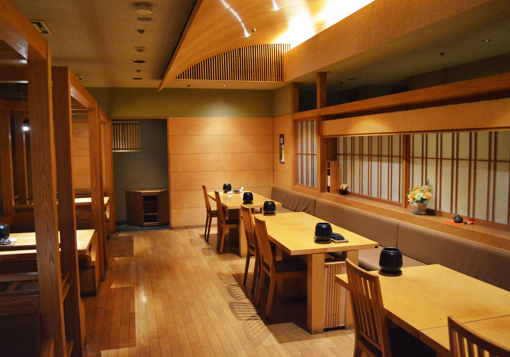 Chiba Ekimae branch introspectiveness - seat at a table is all 6 tables