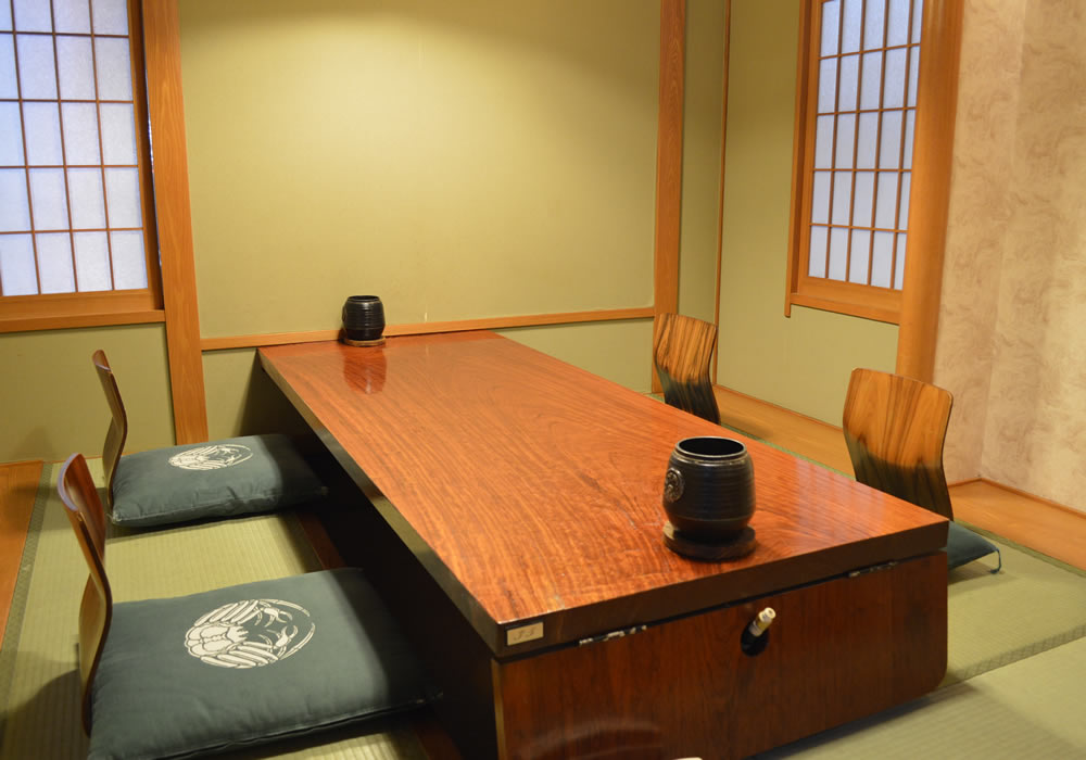 Private room of Chofu Sengawa branch introspectiveness - calm atmosphere