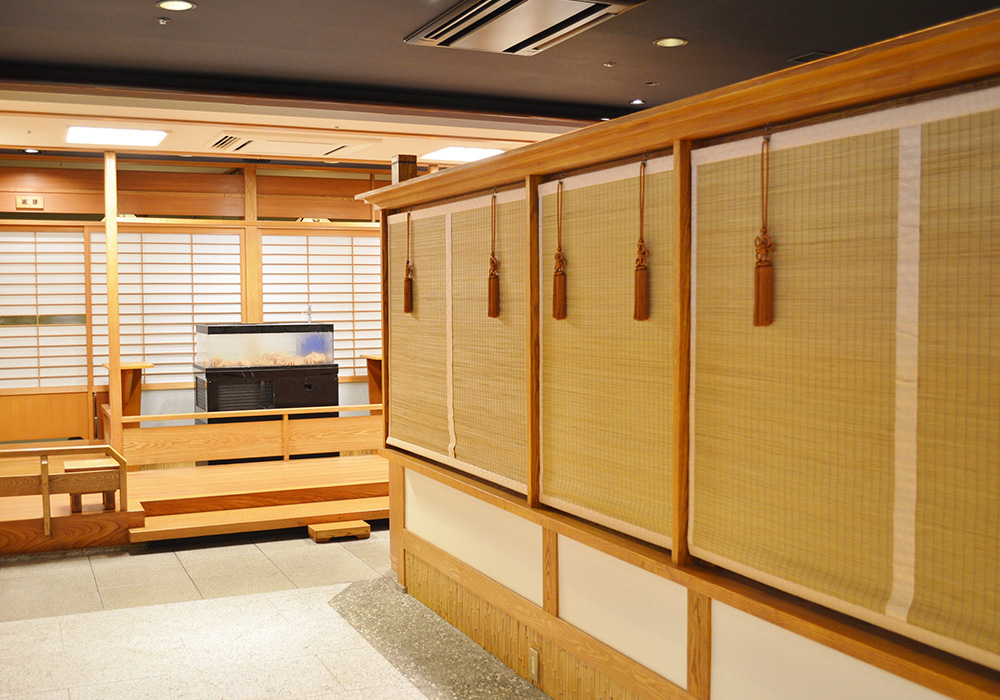 From Ueno branch introspectiveness - entrance to advance room