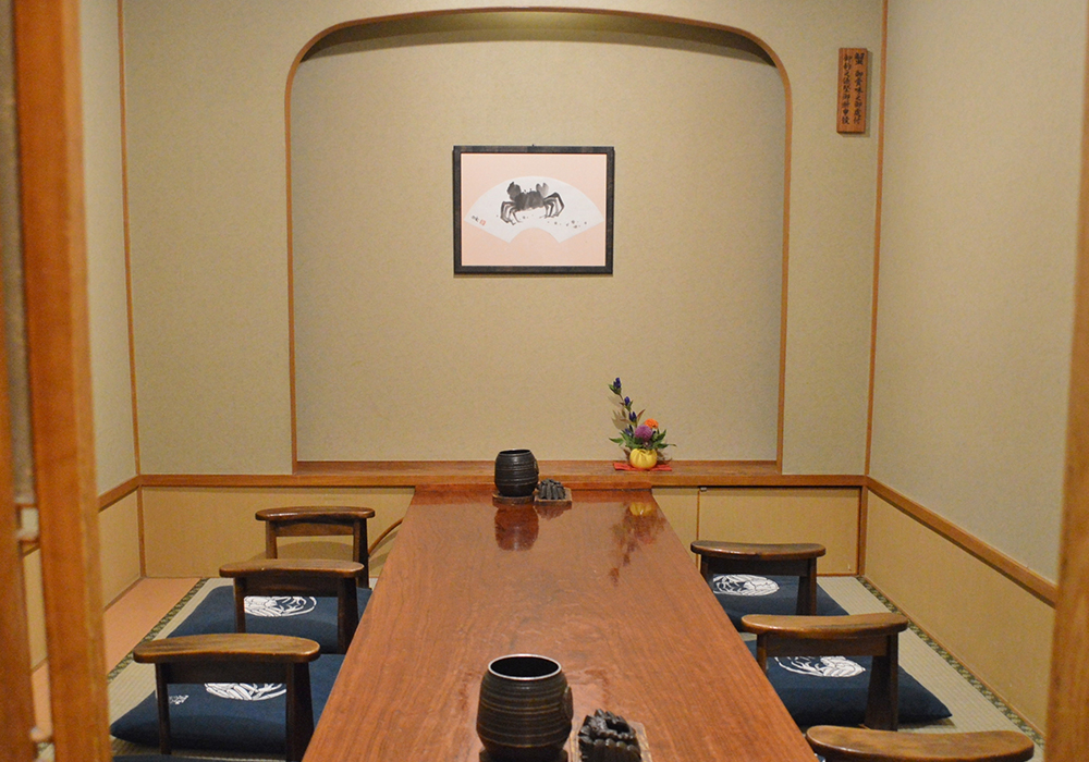 Private room of Ueno branch introspectiveness - calm atmosphere