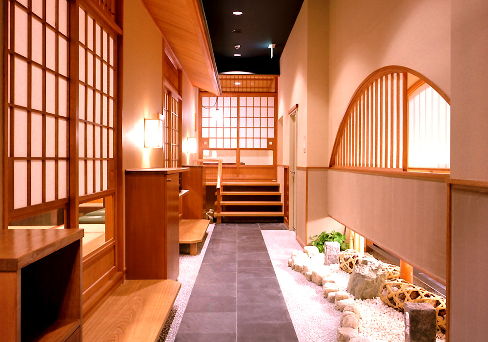 Dig the first floor of Yokohama branch introspectiveness - basement; private room of seat